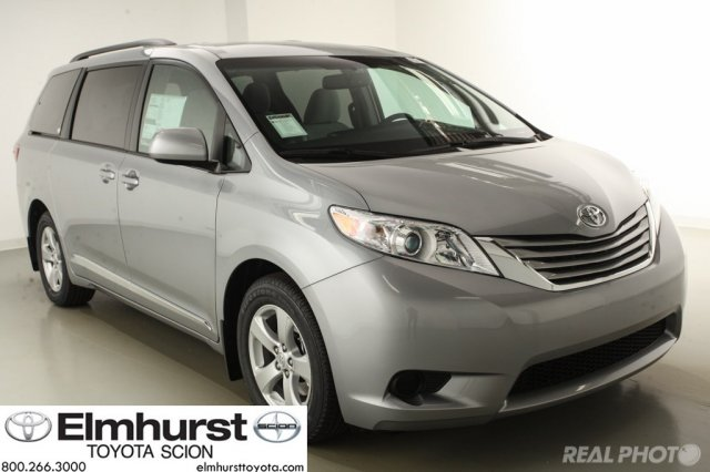 new 2016 toyota sienna le mini van passenger in elmhurst t27634 elmhurst toyota. Black Bedroom Furniture Sets. Home Design Ideas